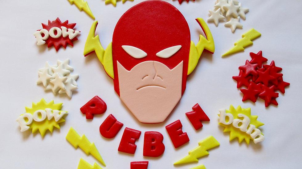 The Flash Edible Cake Topper