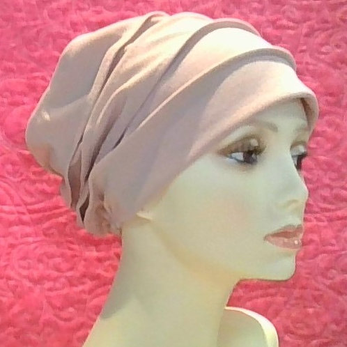 Pleated Slouch Cap