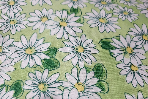 Mask-Reversible Green/Blue Daisies
