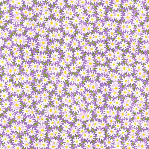 Mask-Purple Daisies