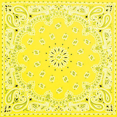 Mask-Yellow Bandana