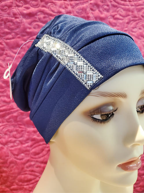 Slouch hat with embelishment