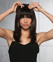 Clip in Human Hair Fringe Bang