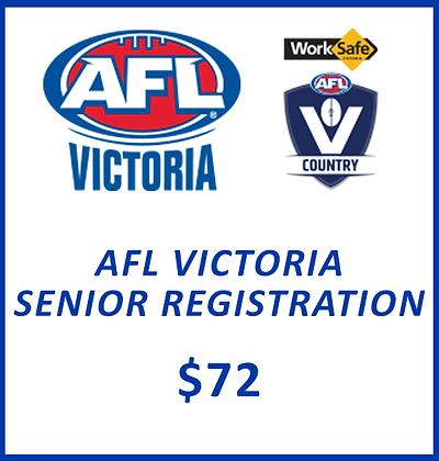 SENIOR REGISTRATION - AFL VIC