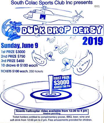 DuckDrop Ticket