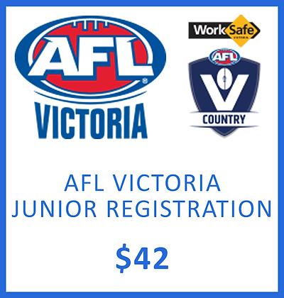 JUNIOR REGISTRATION - AFL VIC
