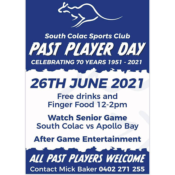 Past Players Day - 2021
