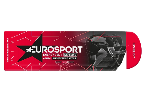 Eurosport Energy Gel Raspberry + caffeïne - 40 gram