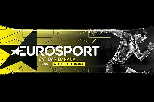 Eurosport Oat Bar banaan - 45 gram