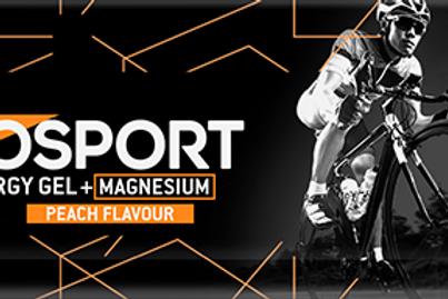 Eurosport Energy Gel Perzik + Magnesium - 40 gram