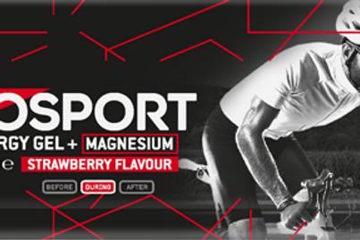 Eurosport Energy Gel Aardbei + Magnesium - 40 gram