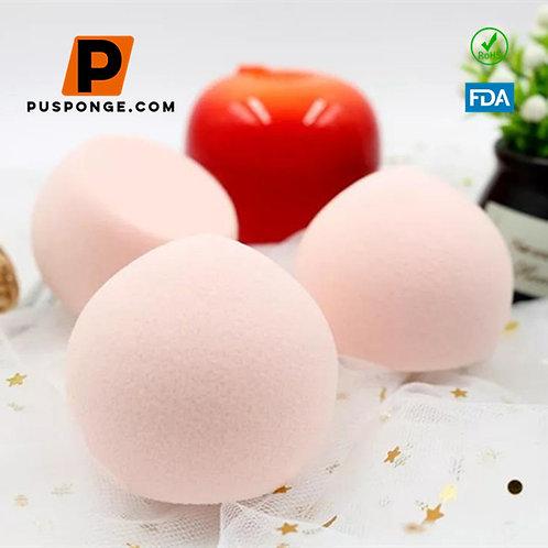 Peach shaped makeup sponge puff wholesaler