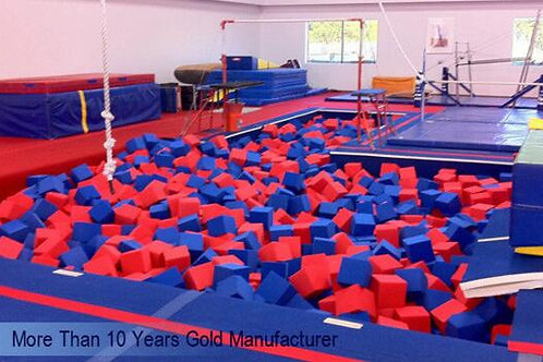Foam Pit Large Trampoline packaging materials foam IN Professional Gymnastic