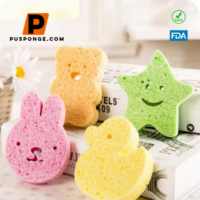 Cellulose baby bath sponge supply