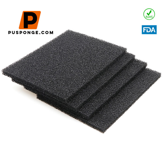 Activated carbon sponge filter screen