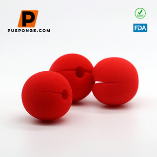 3 Clown Prop Ideas with Red Foam Nose
