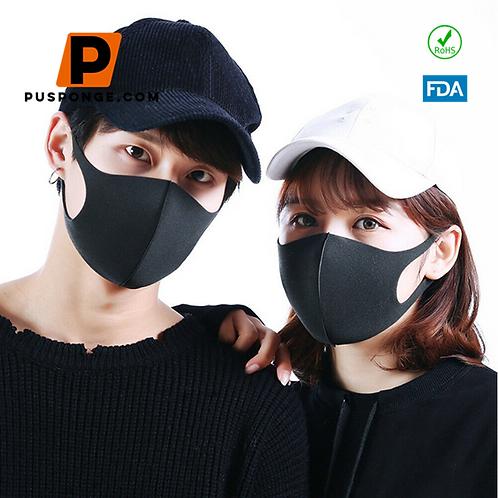 Custom dust anti-fog and air pollution face mask sponge supplier