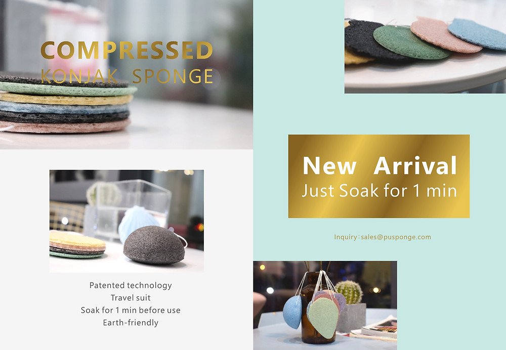 compressed konjac sponge product catalog
