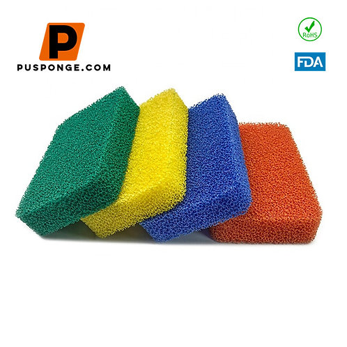 Silicone Cleaning Sponges Scrubber Supplier