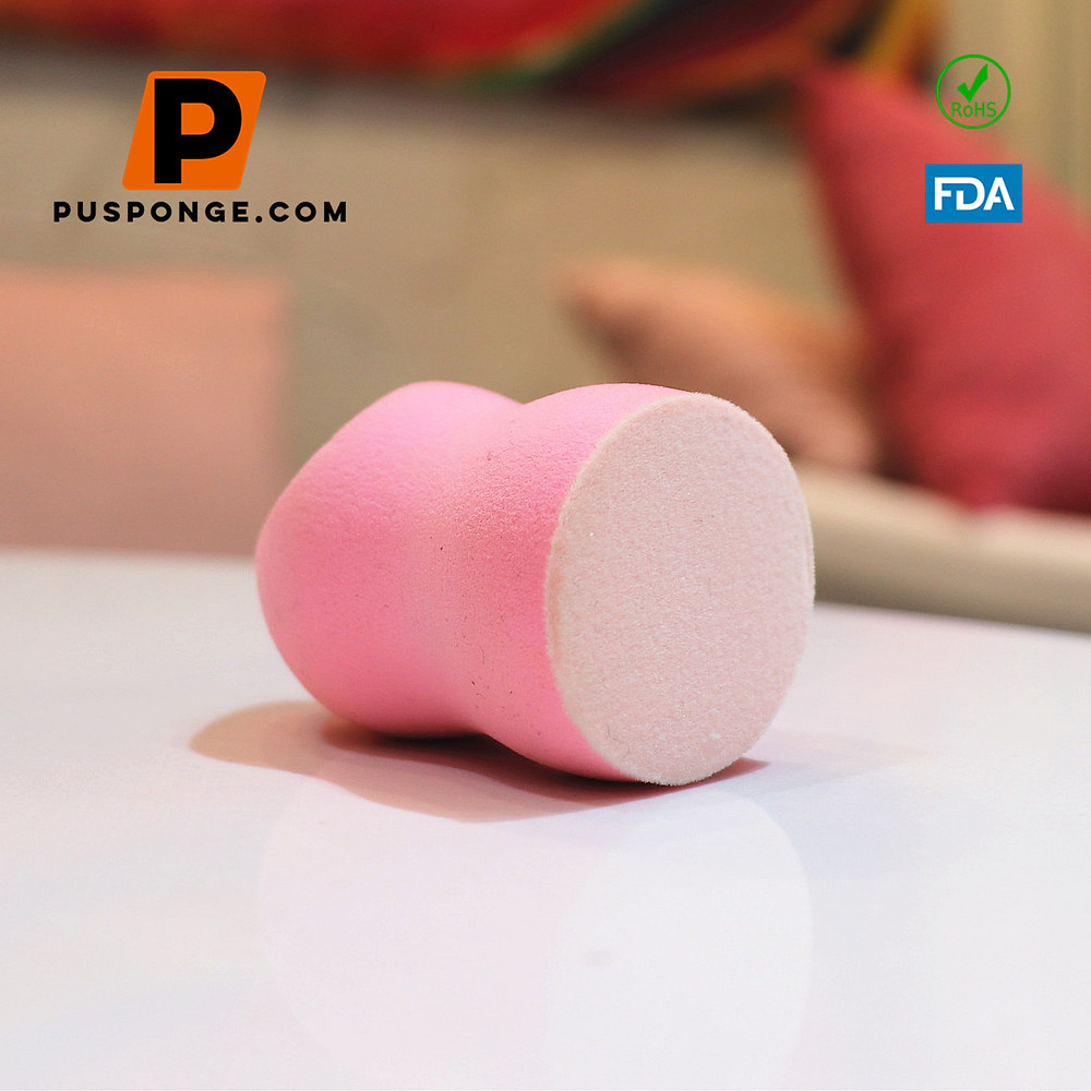flocked sponge manufacturer for makeup