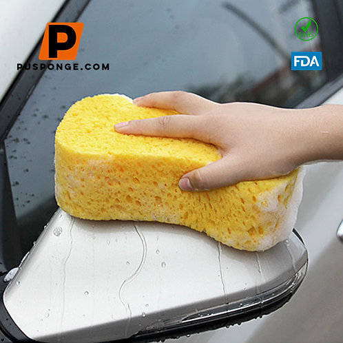 Cellulose sponge for car washing
