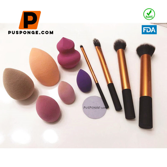 Sponge powder puff cleaning and maintenance