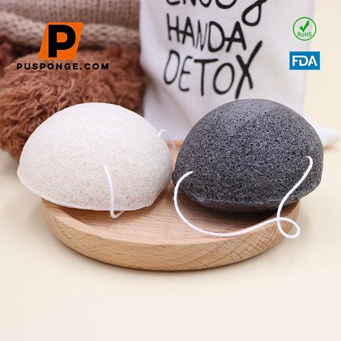 precision beauty konjac sponge supplier bamboo charcoal