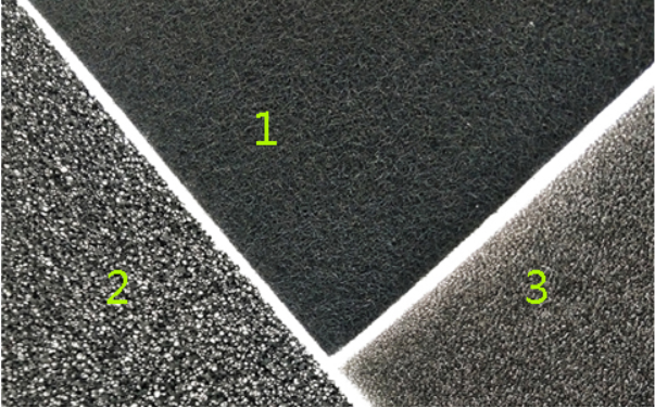 difference between Activated carbon fiber felt and Activated carbon sponge