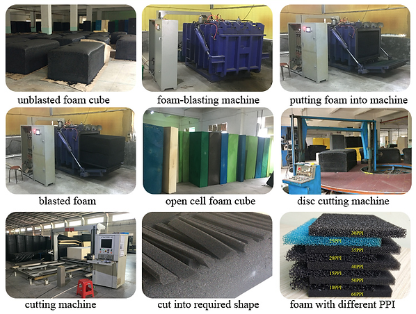 Foam spoge supplier