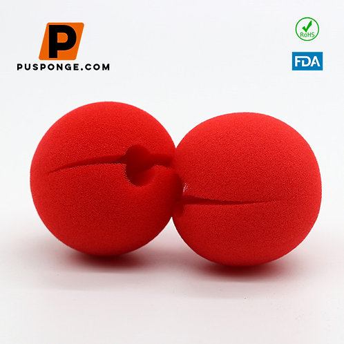 clown nose sponge red for Halloween