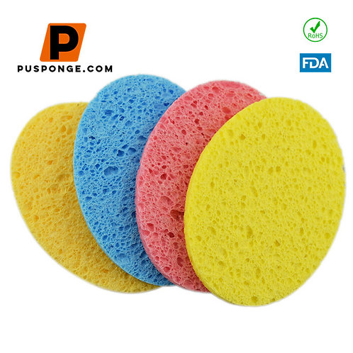 cellulose sponge for face and kitchen