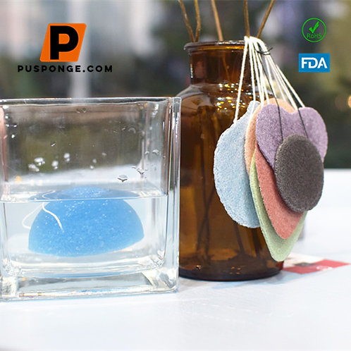 Compressed Konjac Sponge for skin supplier