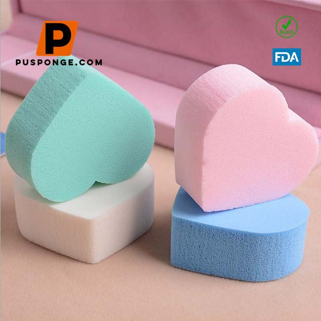 NBR latex sponge powder puff supplier