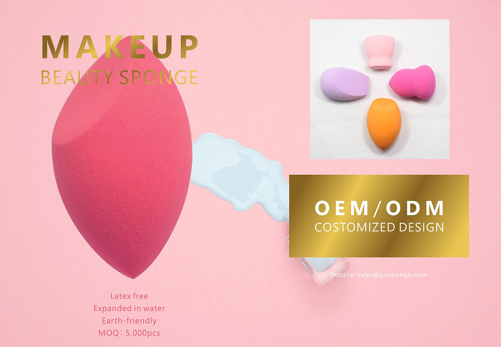 makeup beauty sponge product catalog