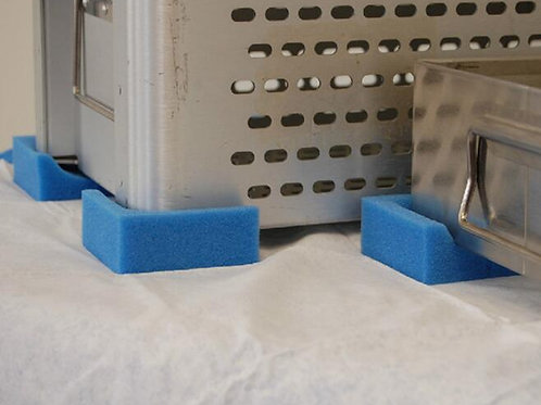 Reticulated Surgical Tray Corner Protectors (set of 4)