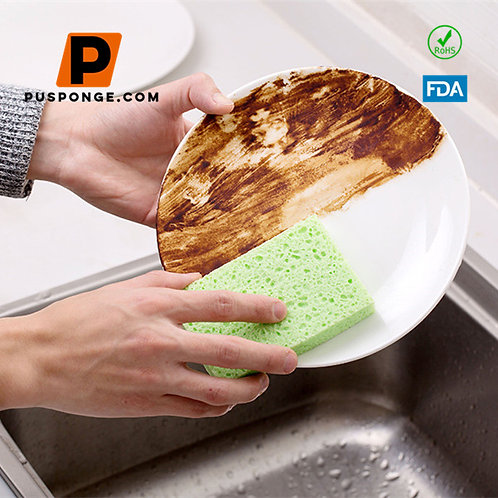 Biodegradable Kitchen Cleaning Sponge