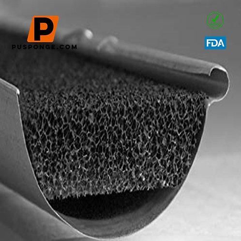 foam filter pressure drop