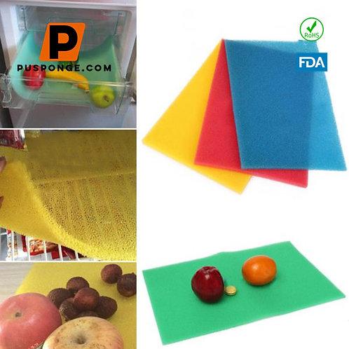 fruit & vegetable mini fridge mat
