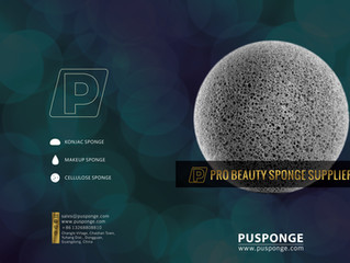 PUSPONGE makeup sponge supplier product catalog 2019