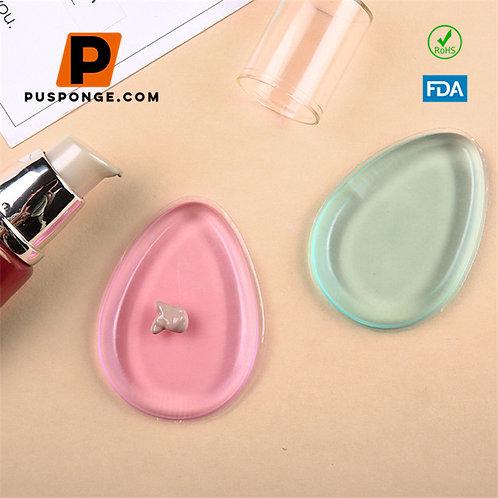 soft silicone silisponge silicone makeup sponge