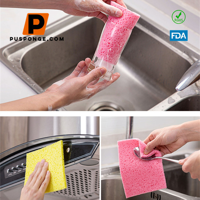 Cellulose kitchen sponge manufacturer