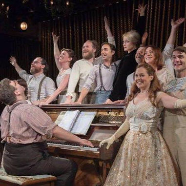 Into the Woods cast, Menier Chocolate Factory, London theatre