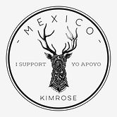 kim rose art logo, logo design, I support Yo apoyo, mexico, kim rose