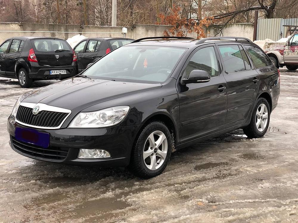 Skoda Octavia A5 продажа в Харькове авто из Германии