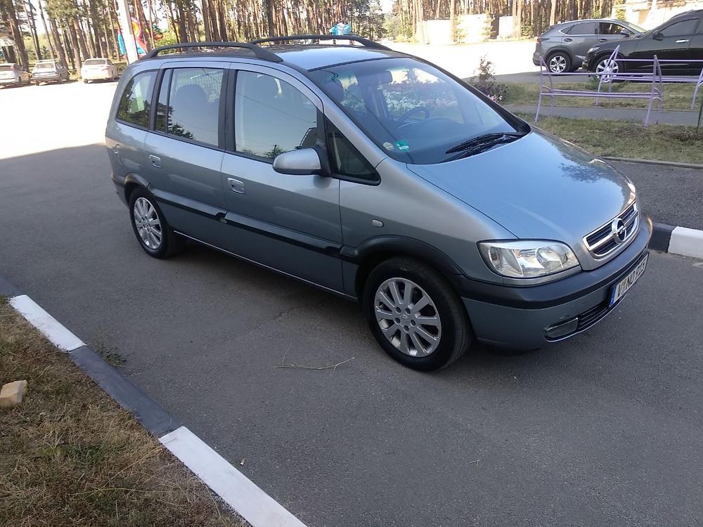 Купить Опель Зафира 2004 год, 1.8 бензин в Харькове. Авто из Германии