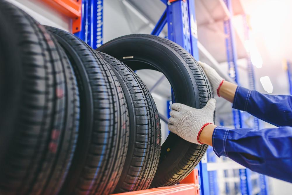 Износ протектора шины