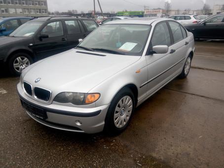 Авто из Европы - BMW 320 2.0л бензин
