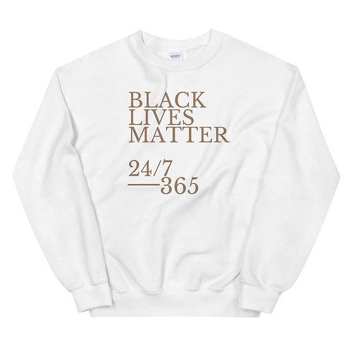 BLM 24/7, 365 Crewneck Sweatshirt