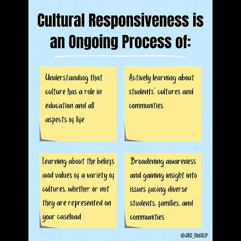 Cultural Responsiveness PDFs
