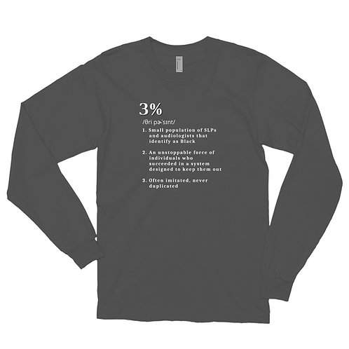 3% Defined Long Sleeve